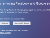 Flickr login