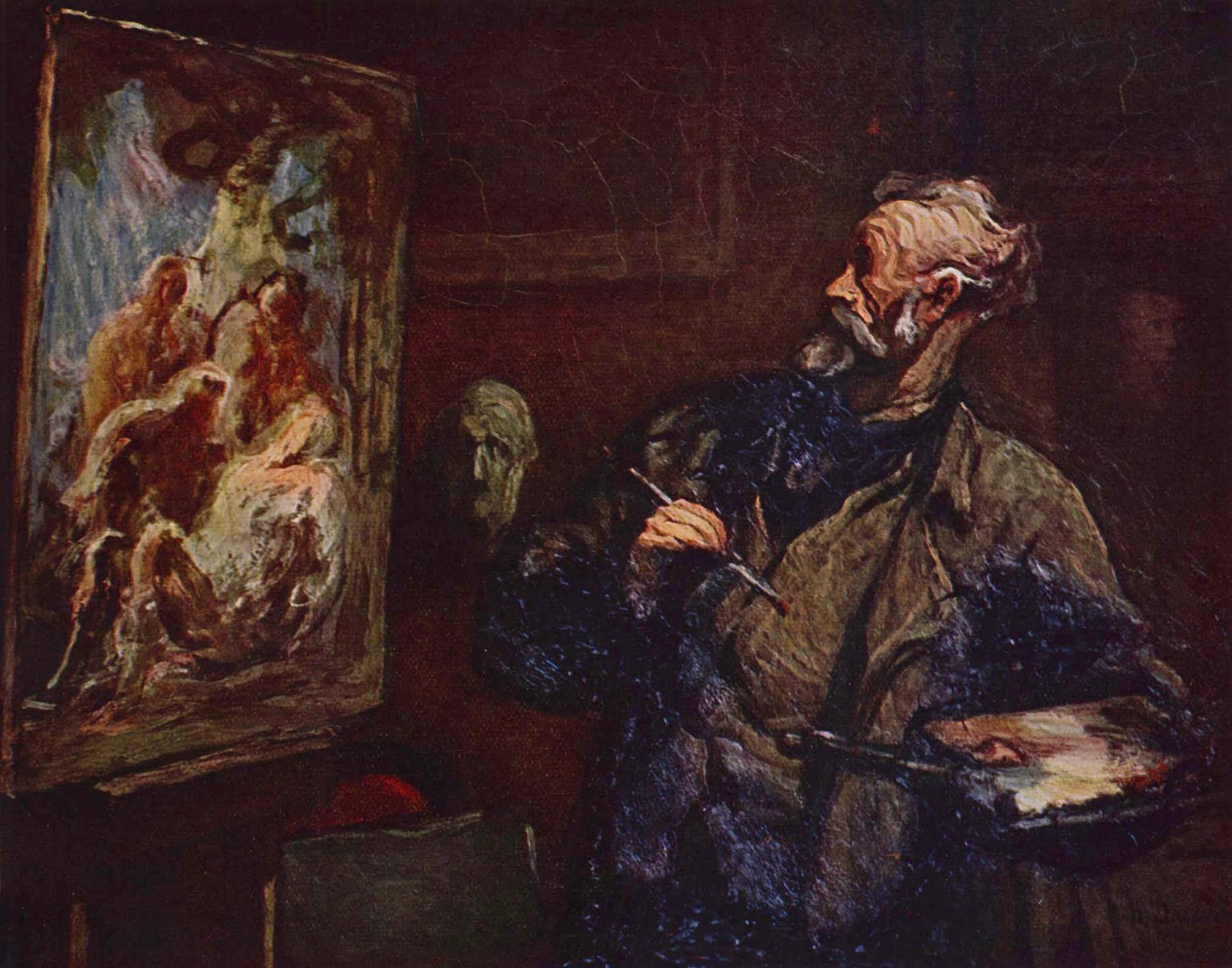 tablou Honoré Daumier